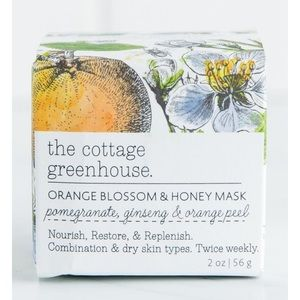 Other - The Cottage Greenhouse Orange Blossom & Honey Mask
